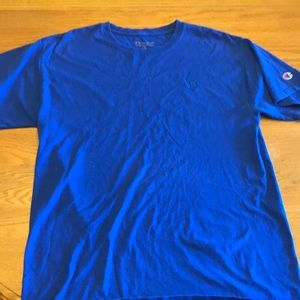 Champion blue t-shirt